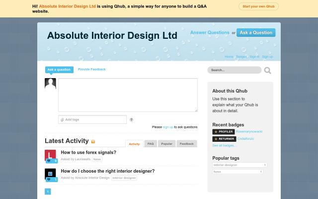 absoluteinteriordesign.qhub.com