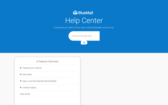 bluemail.help