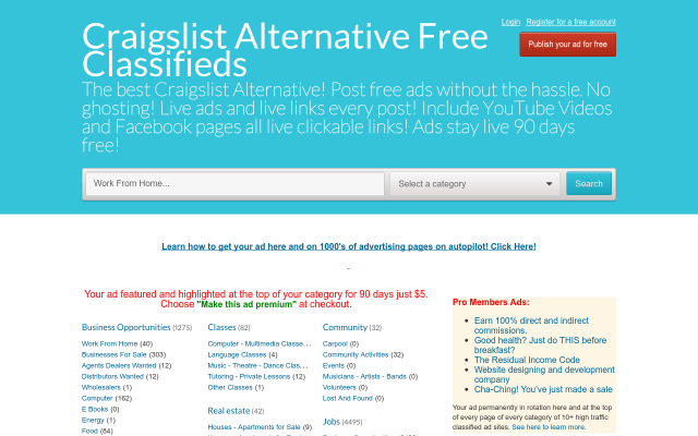 craigslistalternative.freeglobalclassifiedads.com