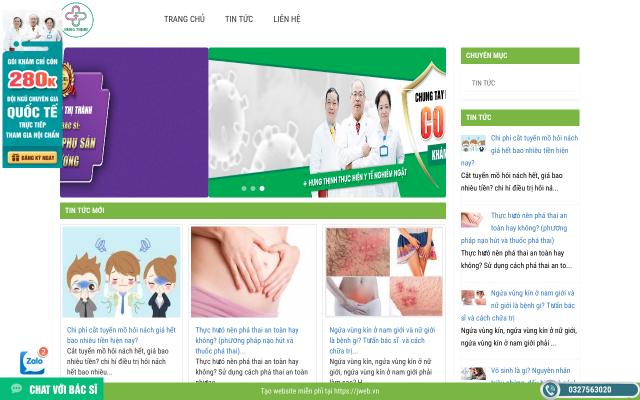 dakhoaonline.jweb.vn