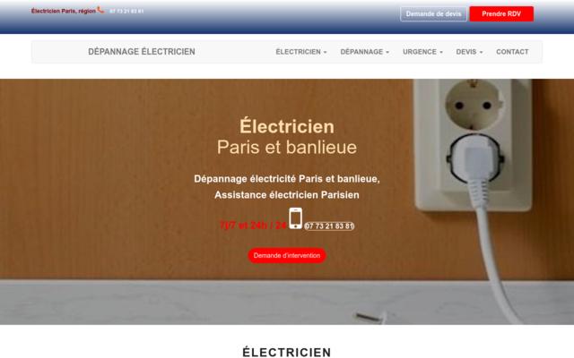 electricien-paris-region.com