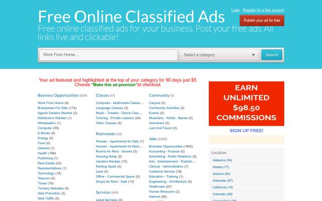 freeonlineclassifieds.freeglobalclassifiedads.com