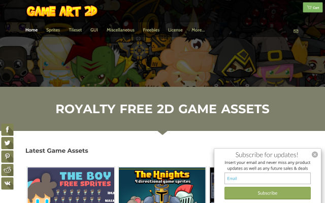 gameart2d.com