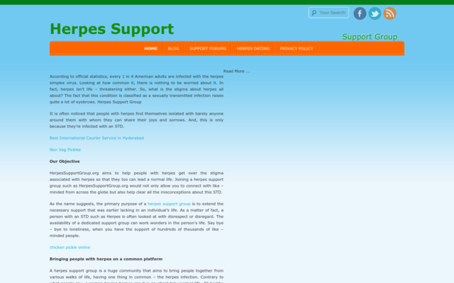 herpessupportgroup.org