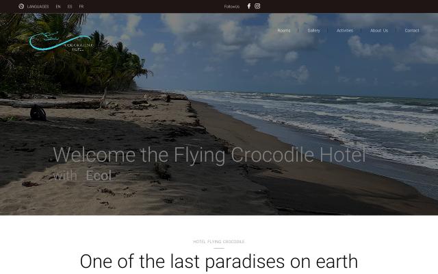 hotelflyingcrocodile.com