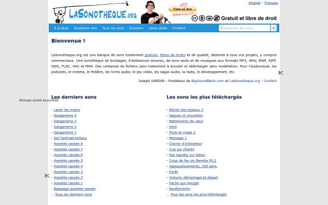 lasonotheque.org
