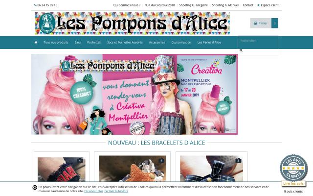 lespomponsdalice.fr