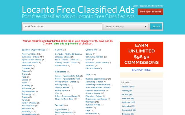 locanto.freeglobalclassifiedads.com