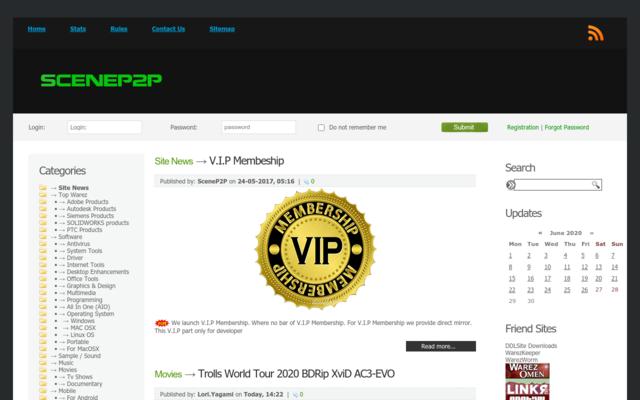 scenep2p.com