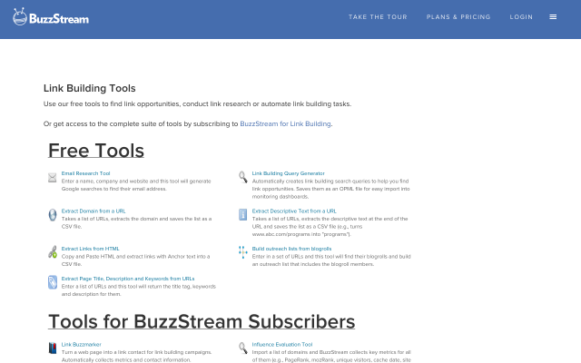 tools.buzzstream.com