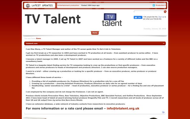 tvtalent.org.uk
