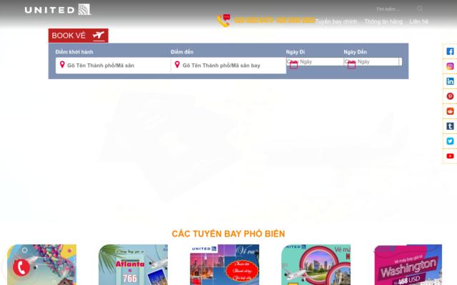 unitedairlines-vn.com