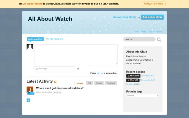 watches2018.qhub.com