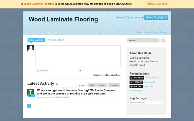 woodlaminateflooring.qhub.com